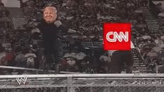 "David Weissman 🇺🇸 on Twitter: ""Good morning, like I said before, I will RT @POTUS laying the smackdown on @CNN everyday and twice on Sunday. @Acosta @jaketapper #CNN #WWE. https://t.co/EDQZt3j9Ie"""