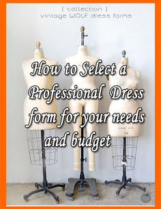 cd81e9d06f8 How to Select a Professional Sewing Dress Form for your Needs and Budget -