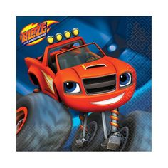 Blaze and the Monster Machines Beverage Napkins