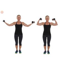 12 Moves For Tight and Toned Arms: Elevated Bicep Curl