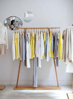 Marie Sixitine Store by Studio Janréji, Paris – France Boutique Interior, Retail Fixtures, Boutiques, Store Displays, Shop Interiors, Retail Shop, Design Furniture, Retail Design, Store Design