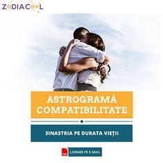 Astrogramă compatibilitate, relație karmică, astrograma căsătoriei, sinastria pe durata vieții