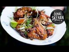 Spicy Sticky Chicken made by Donal Skehan, very tasty!