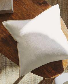 Collection Zara, Zara Home Canada, Zara Home España, Bed Pillows, Cushions, Home Furnishings, Pillow Cases, Living Room, Interior Design