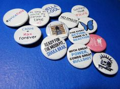 Life is Strange buttons