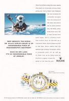 Dr. Sylvia Earle Rolex Lady Datejust Chronometer 1999 Ad Picture