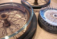 Vintage Wheel Serving Platter