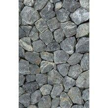 Papel de Parede Pedras Brutas Cinza