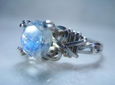 The Faerie Ring by Kiki Hamilton - It's a different colour than the ring in the book, but every time I see it I think of it. It's something I could imagine a fairy wearing :-)