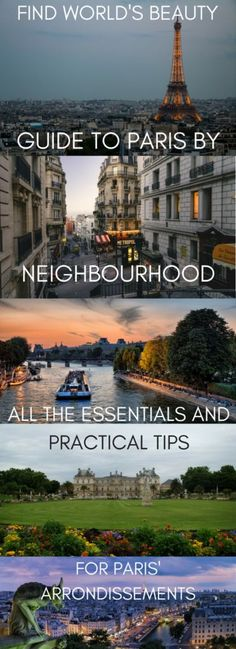 A guide to Paris by neighbourhood: all the essentials and practical tips for Paris' arrondissements – Find World's Beauty