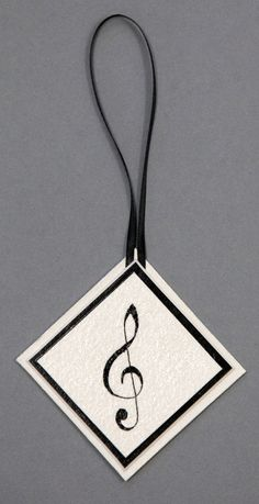 Hand painted Music theme Christmas ornament on by Plumrequests, $8.00