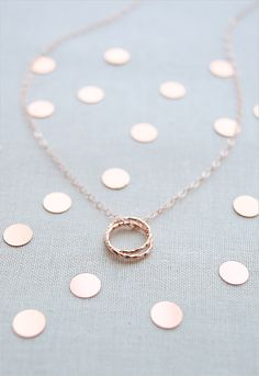 Your bridesmaids most likely also double as your besties so this necklace is perfect! @weddingchicks