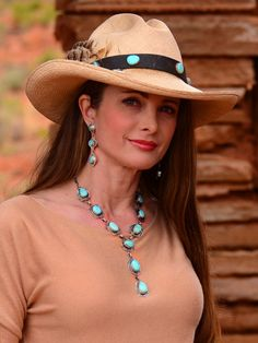 Brit West beautiful concho necklace