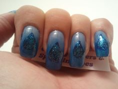 Glittery Fingers & Sparkling Toes: Blue Christmas- 12 Days of Christmas Challenge