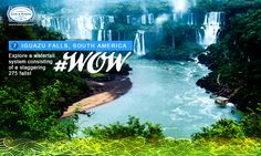 Iguazu currently has the greatest average annual flow of water in the world! This summer, experience the power of mother nature in the flesh. #WorldOfWaterfalls #travel #CnK