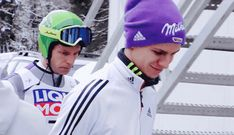 """why you should watch ski jumping """"soo as you might know, the winter olympics are approaching fast and what better time to get into the wonderful sport that is ski jumping than RIGHT NOW? Andreas Wellinger, Ski Jumping, Winter Olympics, Skiing, Sports, Sky, Jumpers, Germany, Wattpad"""