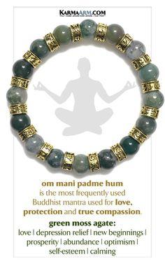 Buddhist Mantra Meditation Bracelet 🧘🏻🧘🏾♂️ #Om #OmManiPadmeHum #buddhism #buddhist #Buddha #mindfulness #SelfCare #LOVE #wellness #rainbow #meditation #meditate #anxiety #depression #pray #relationship #fertility #infertility #enlightenment #chakra #healing #crystal #zen #infinity #faith #fertility #infertility #travel #manifest #Mala #aging #Wish #charm Om Mani Padme Hum, Mantra Meditation, Healing Meditation, Little Gifts For Him, Healing A Broken Heart, Chakra Healing, Healing Crystals, Chakra Bracelet, Natural Gemstones