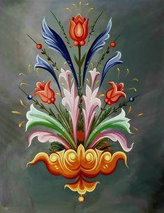 Folk Art Flowers, Flora Flowers, Flower Art, Byzantine Icons, Byzantine Art, Rosemaling Pattern, Alcohol Ink Crafts, Clip Art Pictures, Biblical Art