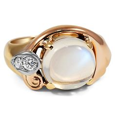 14K Yellow Gold The Erela Ring from Brilliant Earth