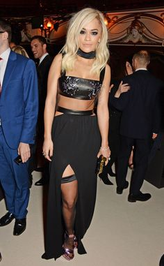 Rita Ora from Stars at the 2014 British Fashion Awards | E! Online