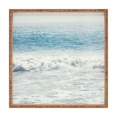 Catherine McDonald Malibu Waves Square Tray | DENY Designs Home Accessories