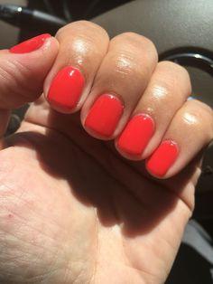 Opi cajun shrimp my gel nails в 2019 г. nails, gel nails и beauty nails. Coral Nail Polish, Red Gel Nails, Opi Gel Polish, Ten Nails, Opi Nail Colors, Nail Lacquer, Coral Nails, Gel Polish Colors, Nails Inc