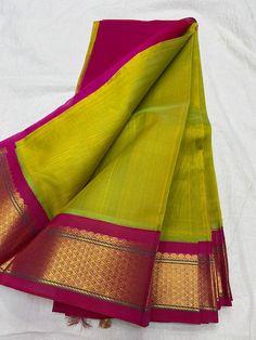Kanjivaram Sarees Silk, Silk Cotton Sarees, Pure Silk Sarees, Saree Wearing Styles, Saree Kuchu Designs, Silk Sarees With Price, Wedding Silk Saree, Simple Sarees, Saree Models