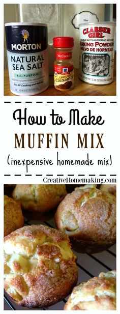 Homemade muffin mix