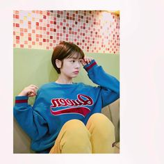 #Somin Jung #정소민 Young Actresses, Korean Actresses, Asian Actors, Korean Actors, Short Hair Cuts, Short Hair Styles, Middle Hair, Cute Love Wallpapers, My Hairstyle