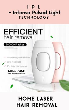 Easy IPL Laser Hair Removal Handset at home - Free Delivery 🚚📦 www.Miss-Posh.com Ipl Laser Hair Removal, Intense Pulsed Light, Hair Removal Devices, Free Hair, Smooth Skin, Ariana Grande, Your Skin, Free Delivery
