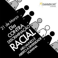 Discriminação, preconceito e racismo = subtítulos para falta de respeito.    Viva a diversidade! Nós apoiamos essa causa.
