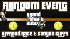 This is Offroad Race 1: Canyon Cliffs Hobby or Pastime in Grand Theft Auto V that involves Trevor, racing with a dirt-bike, finishing first with time 1:32.483.
