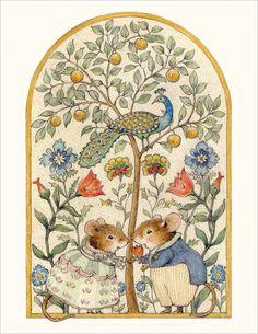 Anniversary Note, Anniversary Funny, Anniversary Cards, Beatrix Potter Illustrations, Vintage Illustrations, Folk, Marjolein Bastin, Children's Book Illustration, Woodland Illustration