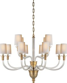 VIVIAN TWO-TIER CHANDELIER | available at circalighting.com
