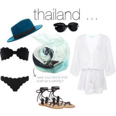 What to wear ... THAILAND. Some suitcase essential for your trip to Thailand, including our divine oversized cashmere-blend scarf ... us it as a sarong!