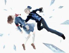 Persona 3 Portable - Minako Arisato and Theodore