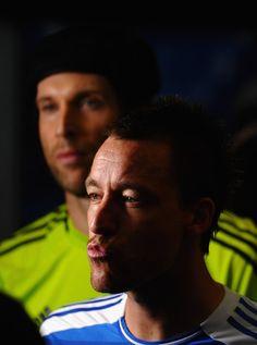 Petr Cech and John Terry