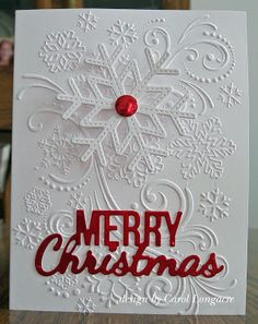 Merry Christmas card by Carol