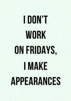 Friday appearances