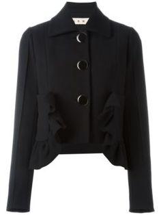 cropped ruffled jacket $1,550 #TodaySale #cute #MarniTopDesinger