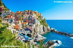 Cinque Terre National Park, Italy poster #poster, #printmeposter, #mousepad, #tshirt