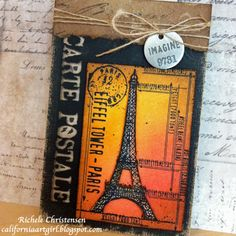 Stamp2cut Paris Notepad
