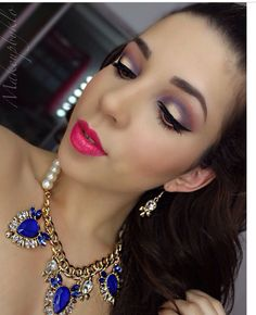 Love this look by @makeupbyklo using all Motives Cosmetics  just of few of my favs using Motives by LaLa - Behind The Scenes palette and   Time Square lipstick. Www.motivescosmetics.com/bunky16