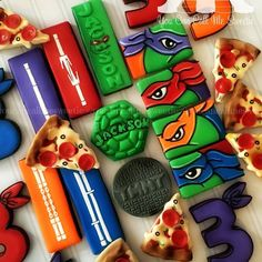 Ninja Turtles cookies - You Can Call Me Sweetie