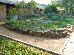 Plano Prairie Garden: Finishing Touches Prairie Garden, Dry Garden, Native Plants, Firewood, Landscape, Woodburning, Scenery, Corner Landscaping