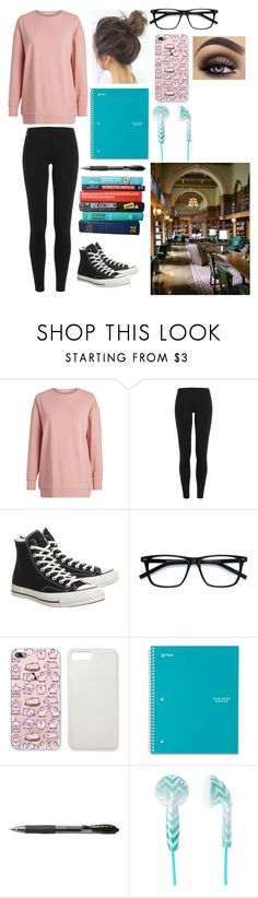 """""""Untitled #937"""" by lemondrop11 ❤ liked on Polyvore featuring Polo Ralph Lauren, Converse, EyeBuyDirect.com and Five Star"""