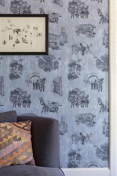 Wallpaper Creates a One-of-a-Kind Family Home In Colorado | Design*Sponge