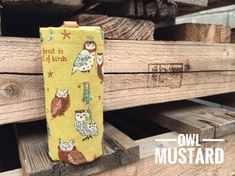 Dog Poop bags dispenser /waste bag holder owls by QTPET on Etsy Fusible Interfacing, New Puppy, Owls, Pet Dogs, Your Dog, Emerald, Reusable Tote Bags, Super Cute, Fabric