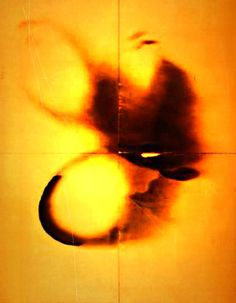 Yves Klein fire paintings http://vimeo.com/3789398#t=238s