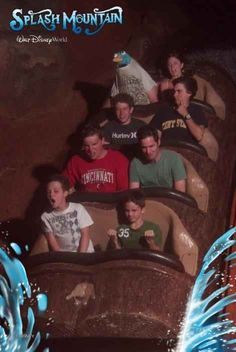 Perry the Platypus | 19 Hilarious Pictures Of People Posing On Splash Mountain